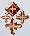 Rogoja cross vestment set