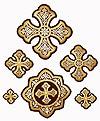 Zvenigorod cross vestment set