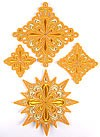 Gorodets cross vestment set