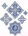 Gdov vestment crosses