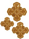 Hand-embroidered crosses - D150