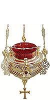Vigil lamps: Oil lamp no.37a