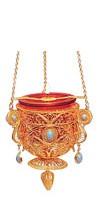 Vigil lamps: Oil lamp - 34