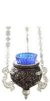 Vigil lamps: Oil lamp no.82b