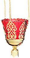 Vigil lamps: Oil lamp no.92a