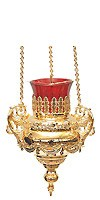 Vigil lamps: Oil lamp no.35 (gold)