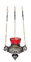 Vigil lamps: Oil lamp no.39 (brass)