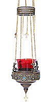 Vigil lamps: Oil lamp no.47 (stones)