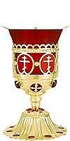 Vigil lamps: Oil lamp - no.12
