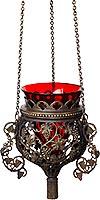 Hanging vigil lamp no.87 (blackening)