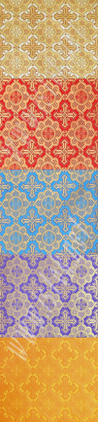 Liturgical fabrics: Old-Greek brocade