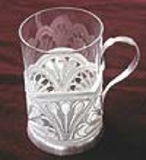 Tea glass-holder Daisy