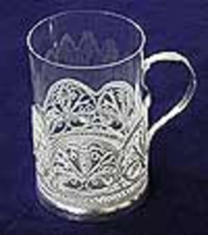 Tea glass-holder Lilly