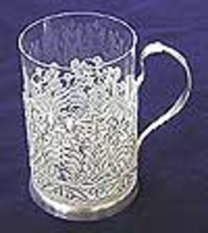 Tea glass-holder no.30