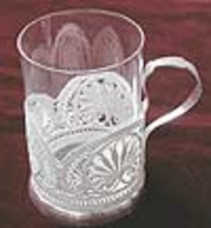Tea glass-holder Sonnet