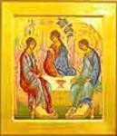 Religious icons: Holy Trinity