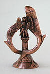 Table candle stands Archangel Michael - 2