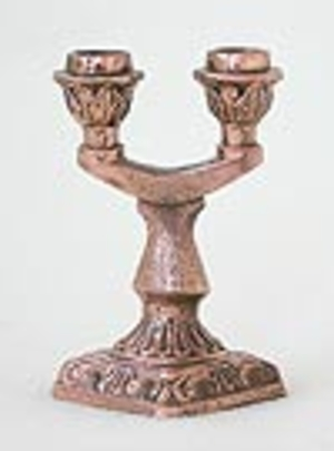 Table candle stands Two-candle stand