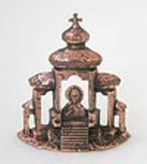Table candle stands Old church of Savior