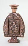 Table candlestands Theotokos panel