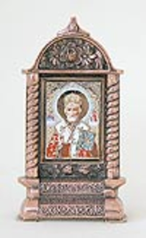 Table candle stands St. Nicholas the Wonderworker - 8