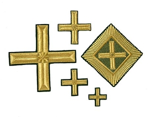Elokhovsky cross vestment set