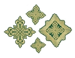Greek cross vestment set