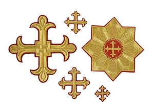 Byzantium cross vestment set