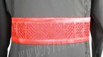 Embroidered clergy belt - Celtic