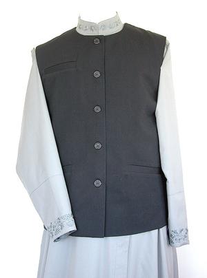 Clergy waistcoat (custom-made)