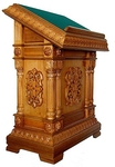 Church lecterns: Double carved lectern - 1