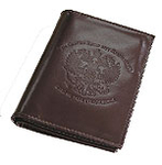Leather driver's wallet