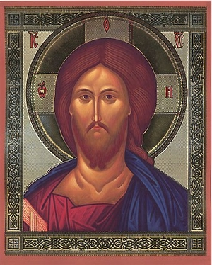 Religious Orthodox icon: Christ the Pantocrator - 2