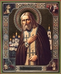 Religious Orthodox icon: Holy Venerable Seraphim the Wonderworker of Sarov - 6