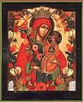 Religious Orthodox icon: Theotokos the Sweet Flower