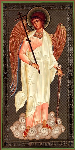 Religious Orthodox icon: Holy Guardian Angel - 2