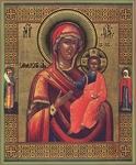 Religious Orthodox icon: Theotokos of Smolensk - 3