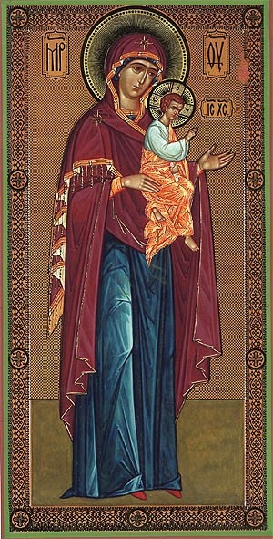 Religious Orthodox icon: Theotokos of Kosinsk