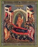 Religious Orthodox icon: Dormition of the Most Holy Theotokos