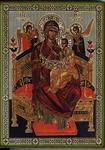 Religious Orthodox icon: Theotokos the Queen of All - 1