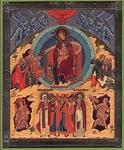 Religious Orthodox icon: Synaxis of the Most Holy Theotokos
