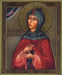 Religious Orthodox icon: Holy Right-believing Princess Anna of Kashin