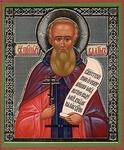 Religious Orthodox icon: Holy Hosiomartyr Vadim