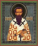 Religious Orthodox icon: Holy Hierarch Basil the Great