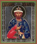 Religious Orthodox icon: Holy Right-believing Prince Romanus of Ryazan