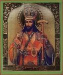 Religious Orthodox icon: Holy Hierarh Demetrius, Metropolitan of Rostov