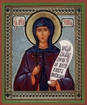 Religious Orthodox icon: Holy Venerable Xenia
