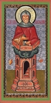 Religious Orthodox icon: Holy Venerable Symeon the Stylite
