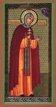 Religious Orthodox icon: Holy Venerable Euphrosynia of Polotsk