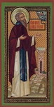 Religious Orthodox icon: Holy Venerable Daniel the Stylite